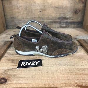 Merrell Barrado Suede Front Zip Sneaker